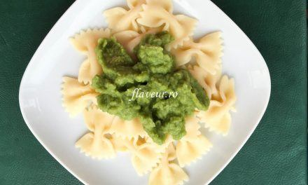 Paste cu sos de broccoli