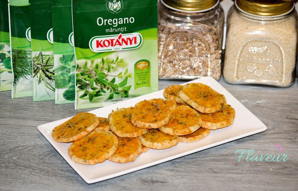 CRACKERS CU OREGANO